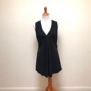 Derek Lam 10 Crosby   V Neck Pleated Dress